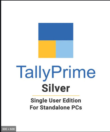Tally Prime GST Ready Single Silver Accounting Software CD Call for Best Price