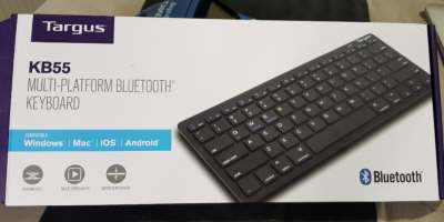 Targus KB55 Multi-Platform Slim BT Portable Wireless Bluetooth Keyboard