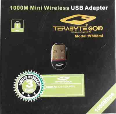 Terabyte 1000MBPS USB Wireless Mini USB Network LAN Adaptor