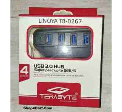 Usb Hub | Terabyte LINOYA TB hub Price 17 Oct 2019 Terabyte Hub 3.0 online shop - HelpingIndia