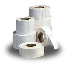 Thermal Label Printer Blank White Label Sticker Paper Roll