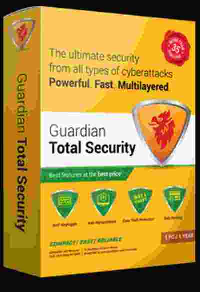 QuickHeal Guardian Total Security for Desktop & Laptops Security Software