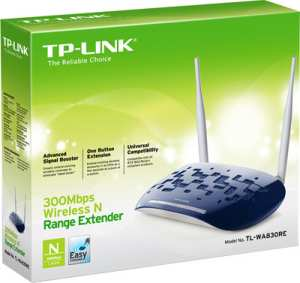 TP-LINK TL-WA830RE 300 Mbps Wireless N Range Extender