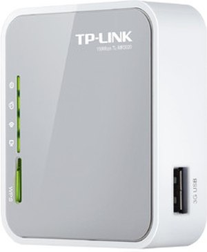 TP-LINK Portable 3G/3.75G/4G Wireless N Router