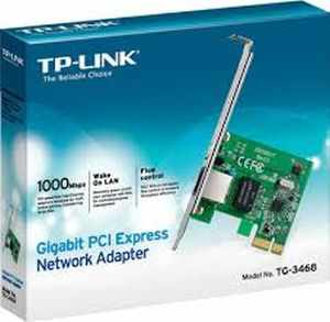 TP-Link Gigabit PCI-E LAN Card, Network Adaptor