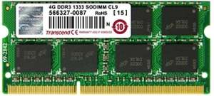 Transcend DDR3 4 GB Laptop RAM