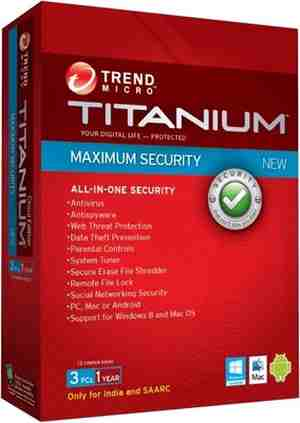 Titanium Maximum Security 3 User 1 Year