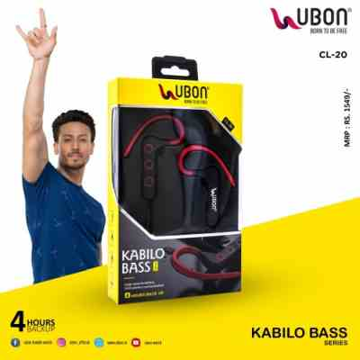 Ubon CL-20 Kabilo Bass Series Wireless Earphone