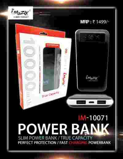 Mobile Power Bank | UBON IM-10071 10000 Bank Price 23 Mar 2019 Ubon Power Bank online shop - HelpingIndia