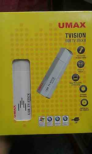 UMAX T-VISION USB TV Tuner Stick