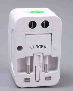 Universal International Socket Travel Adapter