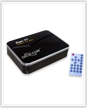 Techcom External USB TV Tuner Box for Laptop & Desktop