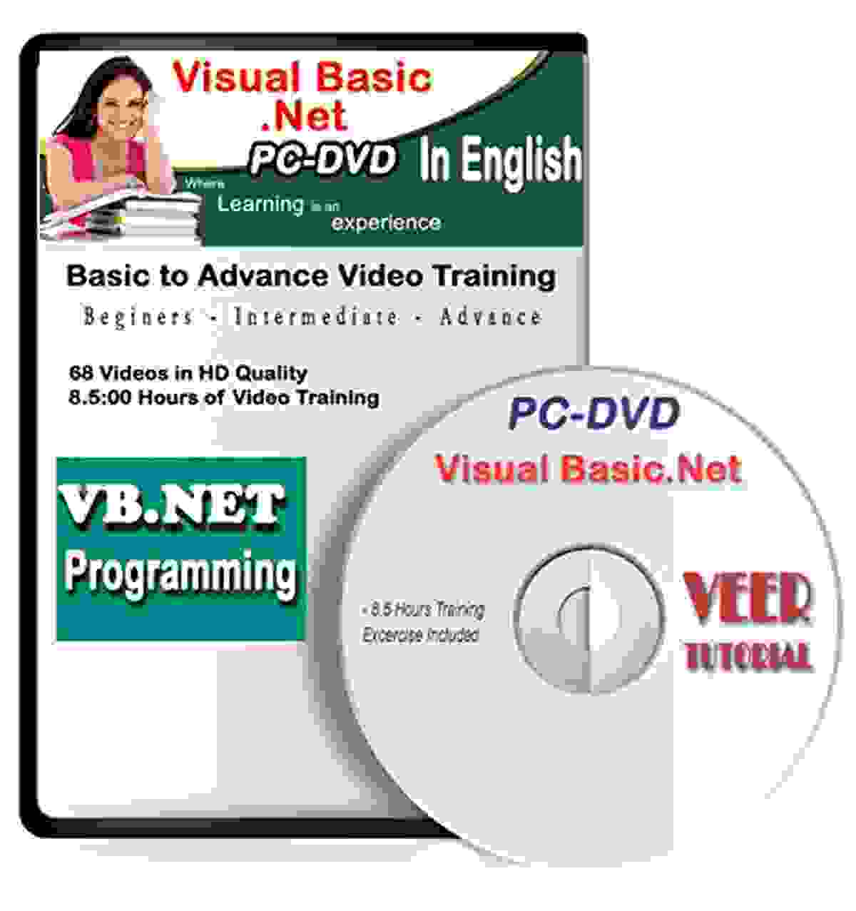 Visual Basic .Net Tutorial Video Training (98 Vidoes, 8.5 Hrs) Learning VB.net Programming Video