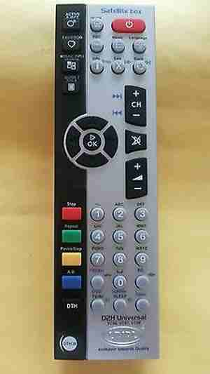 Videocon D2H DTH Compatible Videocon Digital TV STB BOX Remote