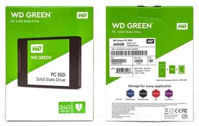 Western Digital 240GB SATA III 6Gb Solid state drive Internal SSD