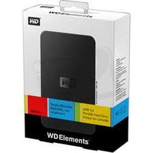 Western Digital WD 1TB Elements 2.5 USB Hard Disk Drive HDD