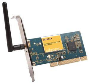 NETGEAR WG311 Wireless wifi wi fi PCI Adapter