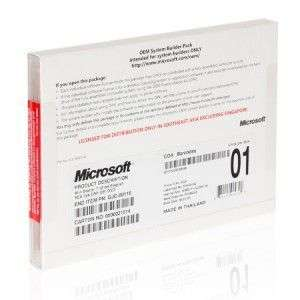 Microsoft MS Windows 7 Professional Original 32/64 OEM PACK