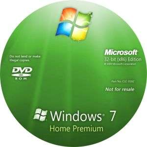 Microsoft MS Windows 7 Home Premium 32/64 OEM Pack