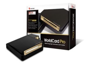 PenPower WorldCard Pro Business Card Reader Scanner for win/mac