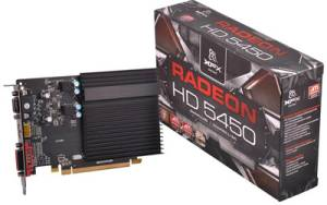 XFX ATI Radeon� HD 5450 2GB DDR3 Graphics/Game PCI-e Card