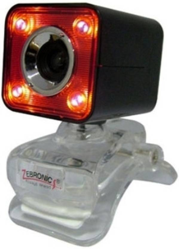 Nightvision Web Cam | Zebronics Crystal Plus Webcam Price@Zebronics Web Vision Webcam Market Shop - HelpingIndia