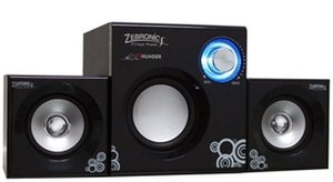 Zebronics Thunder SW2250 2.1 Multimedia Speakers