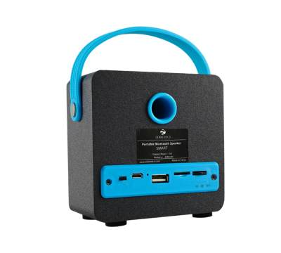 Zebronics Smart Portable BT Wireless with built in FM / USB / SD card slot Bluetooth Speaker