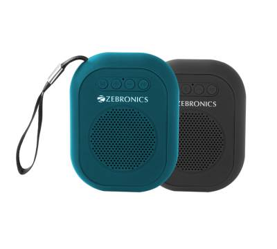 Zebronics Saga Portable BT Wireless with built in FM / USB / SD card slot Bluetooth Speaker