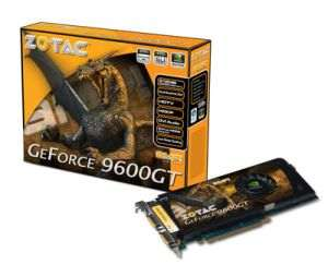 Zotac Nvidia Geforce 9600 GT 1GB DDR2 PCI-E Graphics / Game Card