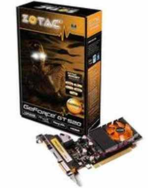 Zotac Geforce GTX 520 1GB DDR3 Graphics Card