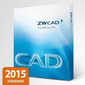 ZWCAD 2015 Standard 2D Software ESD Call for Best Price